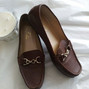 Marc Fisher Brown Loafers 7